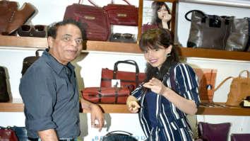 Kalki Koechlin and Dilip Kapur celebrate the Hidesign X Kalki A collection