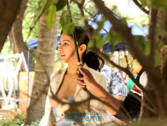 Kangana Ranaut, Amyra Dastur and Rajkummar Rao on location of Mental Hai Kya