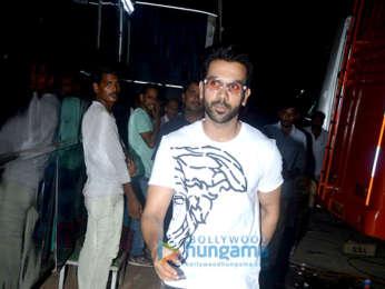 Kangana Ranaut and Rajkummar Rao spotted post shoot of 'Mental Hai Kya'
