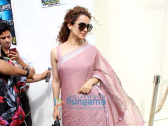 Kangana Ranaut snapped after watching Alia Bhatt's Raazi