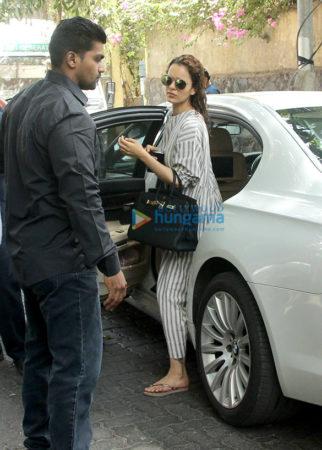 Kangana Ranaut snapped in Mumbai