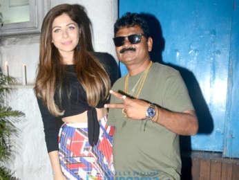 Kanika Kapoor snapped at Olive in Khar