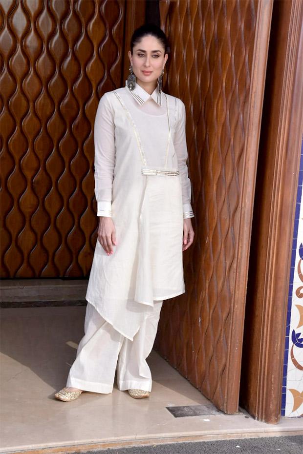 Kareena Kapoor Khan in AJSK Gulabo for Veere Di Wedding promotions