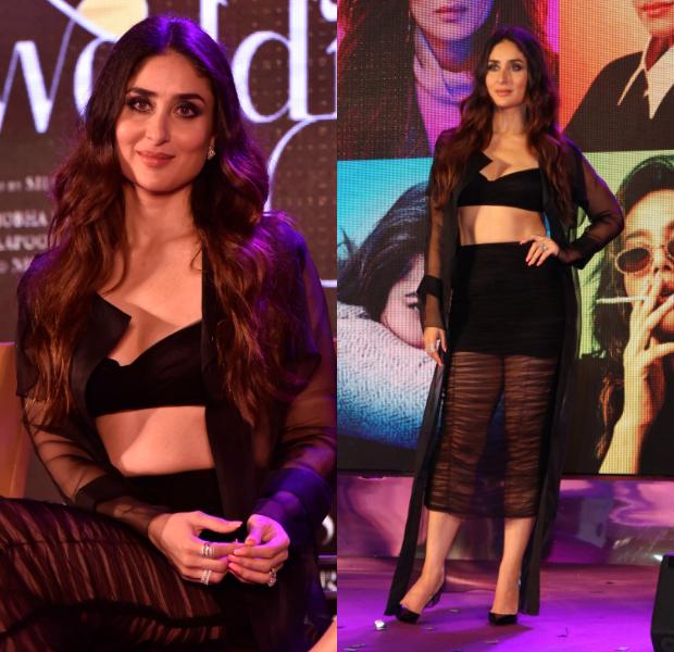 Kareena Kapoor looks hotter than usual for Veere Di Wedding music album launch
