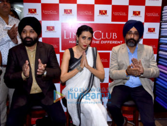 Karisma Kapoor inaugurates the 172nd store of Linen Club