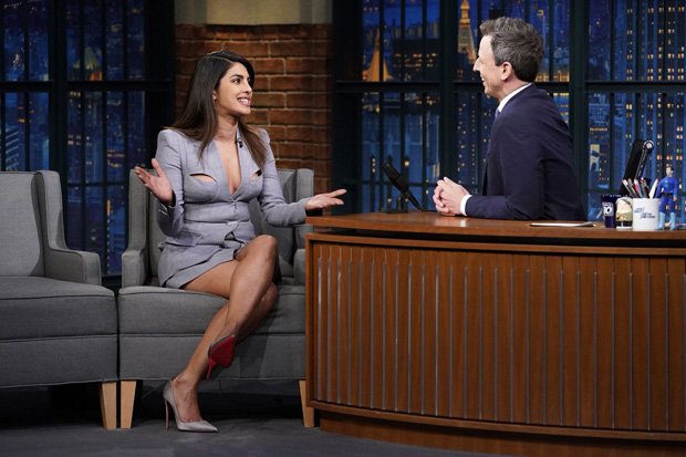 Late Night With Seth Meyers: Priyanka Chopra reveals what it's like to work with his mother Madhu Chopra as a co-producer