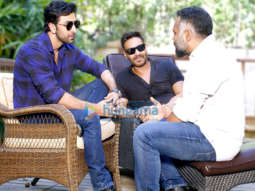 On The Sets Of The Movie Luv Ranjan's next starring Ranbir Kapoor and Ajay Devgn