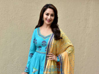 Madhuri Dixit snapped promoting her film Bucket List