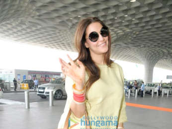 Malaika Arora, Urvashi Rautela and Neha Dhupia snapped at the airport