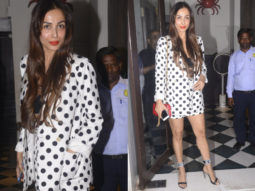 Malaika Arora spotted dining in the city