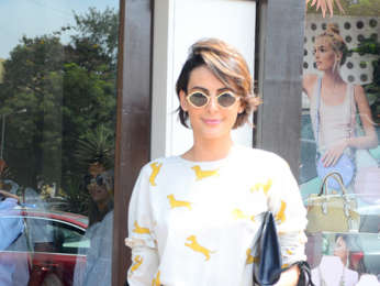 Mandana Karimi spotted at Bastian in Bandra