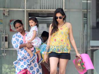 Mira Rajput snapped at Misha's school