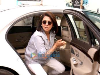 Neetu Singh spotted at PVR, Juhu