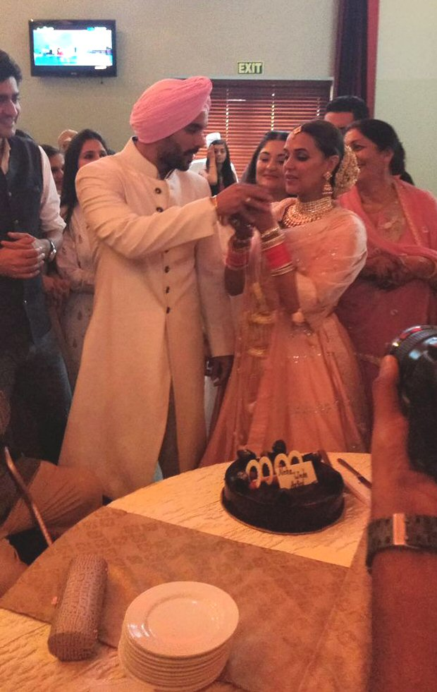 Neha Dhupia and Angad Bedi wedding: INSIDE details, pics and video from their secret wedding