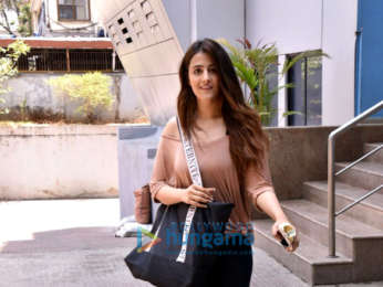 Nupur Sanon snapped at her class