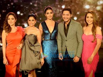 Nushrat Bharucha, Sai Tamhankar, Pooja Hegde, Shreyas talpade and Sonaakshi Raaj grace the FBB Colors Femina Miss India West 2018 winner announcement