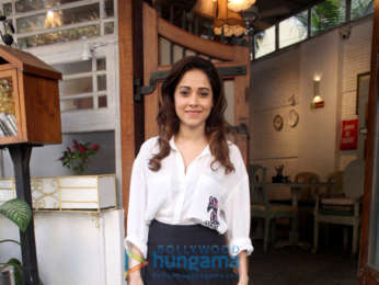 Nushrat Bharucha spotted at The Fable Cafe in Juhu