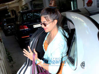 Race 3 cast snapped at Sunny Super Sound for dubbing in Juhu