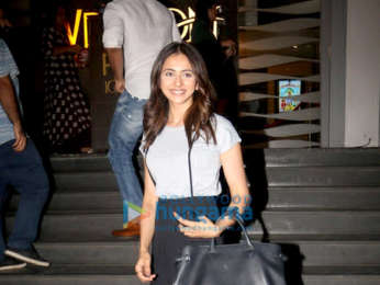 Rakul Preet Singh spotted at PVR Icon