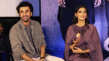 "Ranbir Kapoor ""Sonam Kapoor has become an even better actress…"" Sanju Trailer Launch"