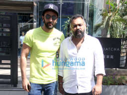 Ranbir Kapoor and Luv Ranjan snapped outside Yauatcha in BKC