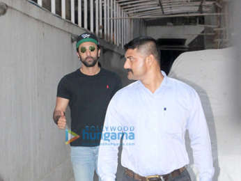 Ranbir Kapoor snapped at the old office of Dharma Productions