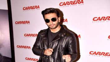 Ranveer Singh attends the Carrera Eyewear promotional event
