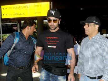 Salman Khan, Jacqueline Fernandez, Twinkle Khanna, Prachi Desai, Ayushmann Khurrana and others snapped at the airport
