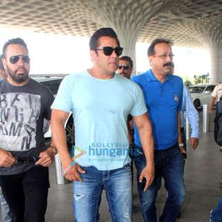 Salman Khan snapped at the airport
