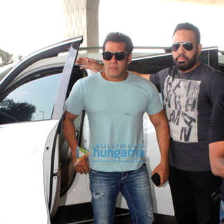 Salman Khan snapped at the airport