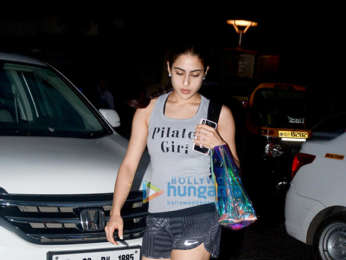 Sara Ali Khan spotted at Bandstand in Bandra