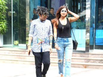 Shilpa Shetty spotted at Nara BKC