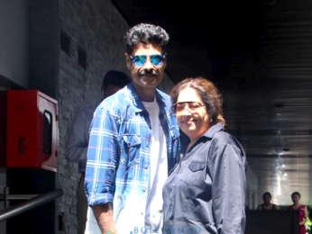 Sikandar Kher and Kirron Kher spotted at Hakkasan