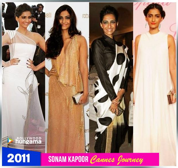 Sonam Kapoor Ahuja - Cannes 2011