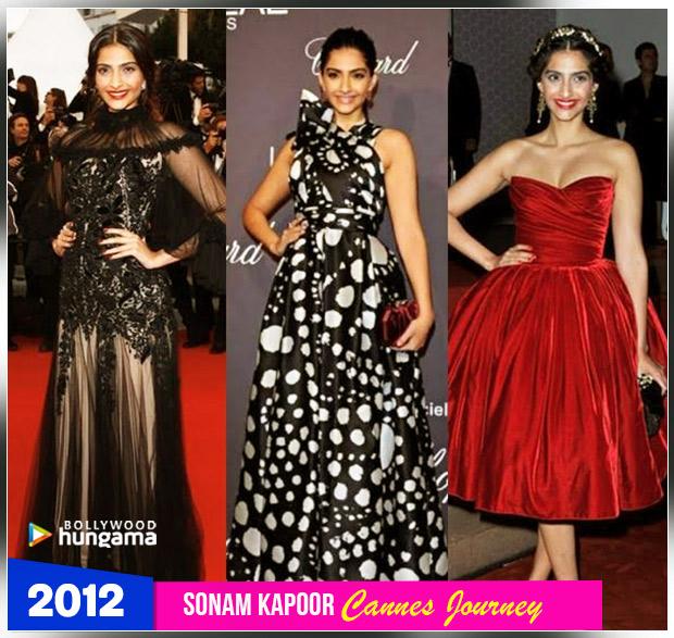 Sonam Kapoor Ahuja - Cannes 2012