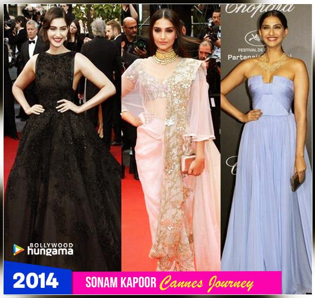 Sonam Kapoor Ahuja - Cannes 2014