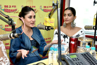 Sonam Kapoor Ahuja and Kareena Kapoor Khan promote Veere Di Wedding at the 98.3 FM Radio Mirchi office
