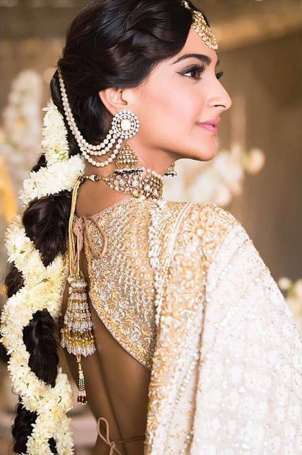 Sonam Kapoor flaunts minimal makeup and a braid