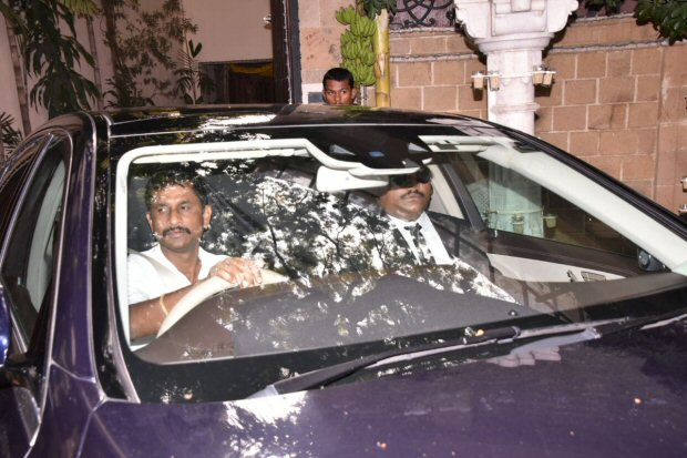 Sonam Kapoor wedding FIRST pics OUT: Bride HIDES under a curtain as she leaves for Rockdale