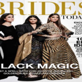 Sonam, Rhea and Kareena on the cover of Brides Today