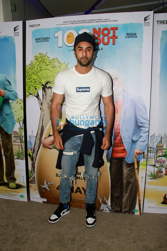 Special screening of '102 Not Out' at Yash Raj Studio