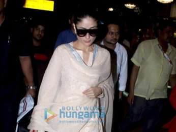 Kareena Kapoor Khan, Sushant Singh Rajput, Suniel Shetty and others snapped at the airport