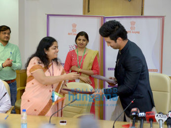Sushant Singh Rajput attends the Niti Aayog event