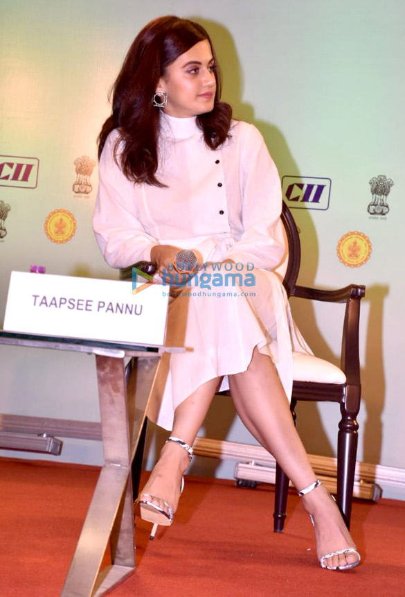 Taapsee Pannu snapped outside NSCI