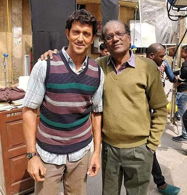 The internet can't stop talking about this UNRECOGNIZABLE picture of Hrithik Roshan from Super 30!