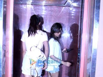 Tiger Shroff, Disha Patni and Ringzing spotted at PVR, Juhu