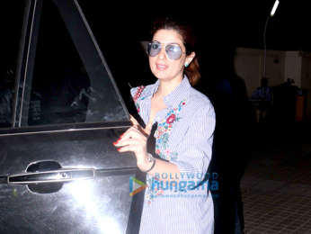Twinkle Khanna with Karan Kapadia spotted at PVR, Juhu