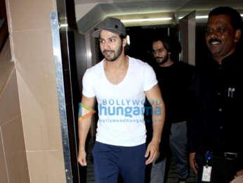 Varun Dhawan spotted at PVR, Juhu