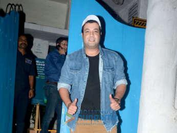 Varun Sharma snapped at Olive in Bandra