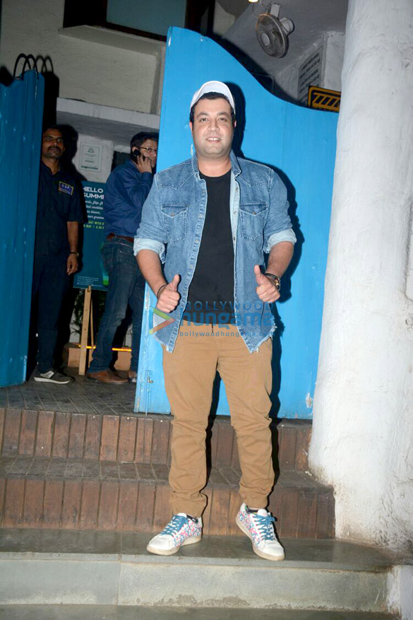 Varun Sharma snapped at Olive in Bandra